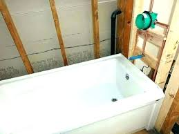 cost to install new bathtub cost to install new bathtub bathroom demolition installation in bathtub installation
