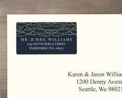 Custom Wedding Address Labels Personalized Return Address Labels