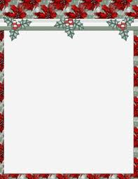 Printable Christmas Stationery Templates Download Them Or Print