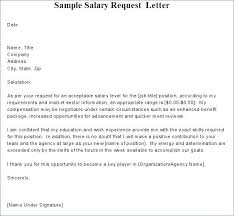 Salary Requirements Templates 10 Salary Requirement Example Proposal Bussines