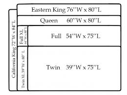 Measurements A California King Bed For King Size Bed Frame