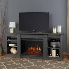 eliot grand 81 in entertainment center electric fireplace in