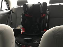 evenflo 3 in 1 car seat symphony sport