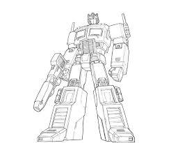 Small Picture Gorgeous Design Transformers Optimus Prime Coloring Pages Optimus