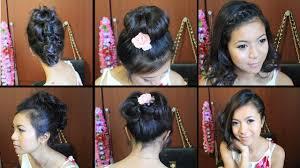Cute Easy Medium Hairstyles Cute Hairstyles For Short Medium Hair Tutorial Youtube