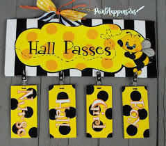 Student Hall Pass Ready To Ship Student Hall Passes For Classroom Teachers