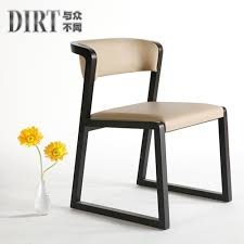 simple wooden chair. Beautiful Chair Simple Wood Chair Study Single Dinette Modern Armchair Fashion Soft  Bag Wooden Backrest For Wooden Chair A