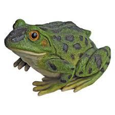 garden frog statue. Design Toscano Ribbit The Frog Garden Toad Statue