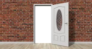 door open wall open door home interior house