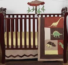 dinosaur baby bedding 4pc crib set by
