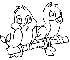 Small Picture Coloring Page Birds Free Printable Bird Coloring Pages Friartk