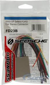 scosche fd23b wire harness to connect an aftermarket stereo Scosche Wiring Harness Diagrams Ford scosche fd23b wire harness
