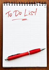 To Do Lsit Bigstock Blank To Do List 27249434 Straighten Your Paths