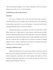 bio assignment biology essay question word count s 4 pages affirmative action in society