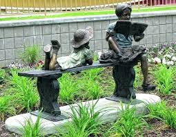 garden statues for large fairy garden statues for bronze sculpture of a garden statues