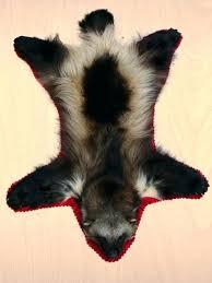 fur animal print rugs heads taxidermist fake skin uk for