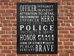printable art police officer gift