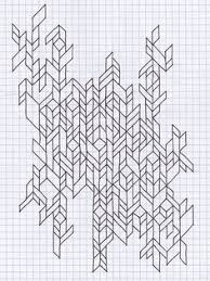 patterns to draw on graph paper 57 best graph paper images zentangle drawings drawings graph