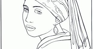 Free Rembrandt Coloring Pages