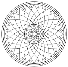 Small Picture Free Coloring Pages Of Symmetrical Patterns 14425