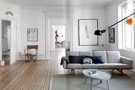 Interior Scandinavian With Rustic