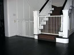 Baby Gate For Stairs With Banister And Wall Wood Baby Gates For ...