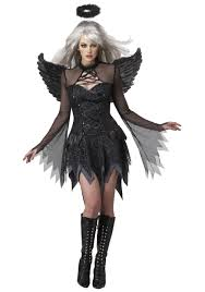 plus size women s sultry fallen angel costume