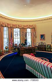 oval office carpet. A Full-sized Replica Of The Oval Office At William J. Clinton Presidential Carpet