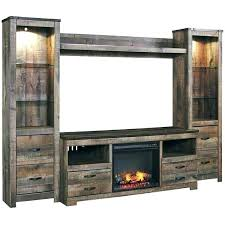 electric fireplace tv stand doors with blower combo canada