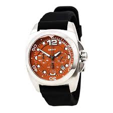 dkny ny1446 men s quartz orange dial chronograph watch dkny ny1446 men s quartz orange dial chronograph watch