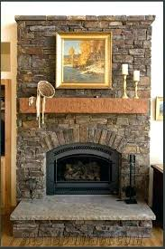 stone gas fireplaces stone gas fireplace