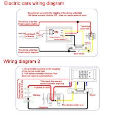 digital volt amp meter wiring diagram wiring library amazon com drok digital current tester multimeter dc 100v volt 2a ampere battery monitor