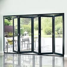 folding glass doors cost large size of wen folding patio doors foot sliding glass door folding glass doors