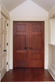 interior double doors. Custom 3 Panel Mahogany Interior Double Door With Craftsman Style Casing. Doors O