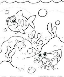 Ocean Color Pages Free Printable Ocean Coloring Pages Scene Page