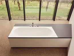 rectangular built in enamelled steel bathtub bettestarlet spirit by bette