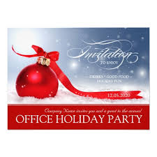 the office christmas ornaments. This Office Holiday Party Invitation Features A Beautiful Design Of Red Christmas Ornament With Ribbon The Ornaments E