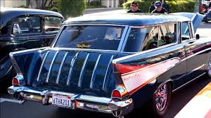 Gorgeous '57 Chevy Nomad at Cruisin' Grand 3/13/2016 - YouTube