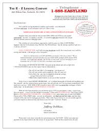 Direct Mail Letter Samples - Jeffrey Dobkin