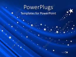 Powerpoint Backgrounds Blue Powerpoint Template Blue Curtain Background With White