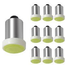 Ba9s Led Light Bulb Amazon Com Shunyang Ba9s Led Bulb Cob Instrument Panel Led