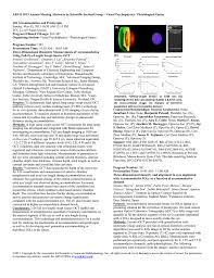 Hoya Array Centration Chart Visual Psychophysics Physiological Optics