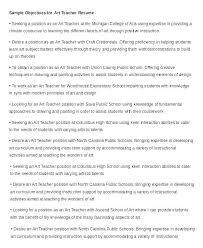Teacher Resume Objectives Teachers Resume Objectives Teaching Resume Objective Sample Resume