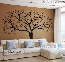 big tree decals for walls giant family tree wall sticker vinyl art home decals room decor