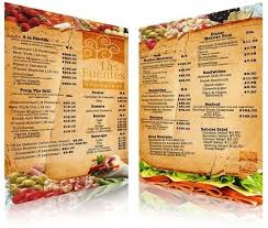 Restarunt Brochure Delectable Ideas To Make A Restaurant Menu Design And Restaurant Menus Layout