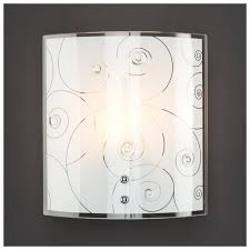 Настенный светильник <b>Eurosvet</b> Sierra <b>3745/1</b> хром, 60 Вт ...