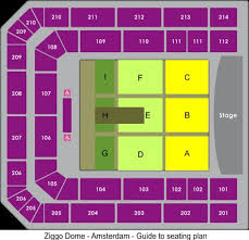 The Dome Arena Seating Chart Ziggo Dome Tickets Amsterdam Ziggo Dome Seating Chart