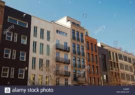 Modern Apartment Buildings Berlin Germany Stock Photo Royalty - Modern apartment building facade