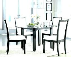 round glass dining table for 4 set room chairs