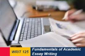 fundamentals of academic essay writing online writing courses  delivery mode online